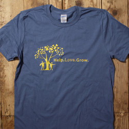 Indigo Blue t-shirt